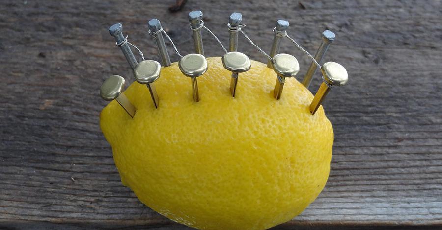 Ako spraviť oheň pomocou citróna